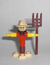 LEGO City - Vogelscheuche - Figur Scarecrow Acker Bauernhof Feld Crow 60223