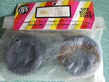 RC tires - Pair of AJ, New, old stock