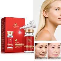 Six Peptide Aloe Vera Collagen Argireline Serum Anti Wrinkle Aging Face Skin WIき