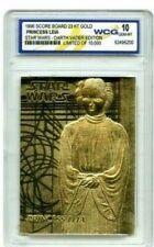 Star Wars Princess Leia - Darth Vader Edition Wcg 23 Kt Gold Card Limited 10,000