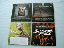 SHADOWS FALL job lot of 4 promo CDs The Power Of I And I Redemption War Within