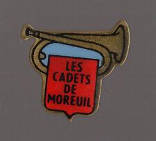 Pin's pompier / fanfare des pompiers de Moreuil (les cadets de Moreuil / Somme)