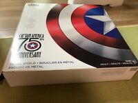 Marvel Legends Hasbro 75th Anniversary Captain America Metal Shield 1:1 FedEx