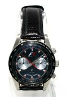 Jacques Lemans Formula 1 F1 Chronograph Men's Sport Silver Stainless Watch F5019