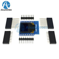 "OLED Shield for WeMos D1 mini 0.66"" inch 64X48 IIC I2C for Arduino Compatible"