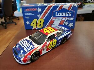 2003 Jimmie Johnson #48 Lowe's Power of Pride 1:18 Action NASCAR DieCast MIB