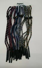 6 x Aspex Sunglasses / Glasses Lanyard Retainer Cord Bundle New /AGB6