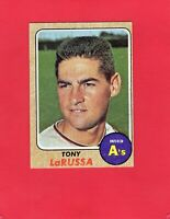 1968 Topps baseball #571 TONY LaRUSSA Oakland Athletics Hall of Fame