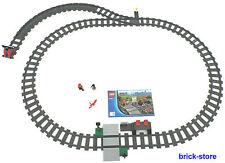 LEGO ® ferrovia (60051) guide cerchio con morbida/destra Prell Bock e stazione ferroviaria