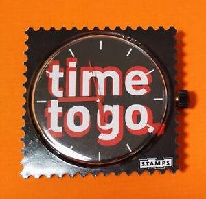 Leave! time to go S.T.A.M.P.S. Stamps Uhr 19.99 Euro, Rarität! #0711065