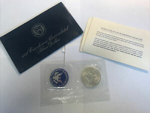 1972-S SILVER Eisenhower Dollar Uncirculated Mint Sealed 40% Silver 1972 US $