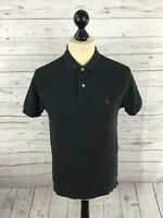 Men's Ralph Lauren Polo Shirt - Small - Dark Grey - Great Condition