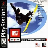 MTV Sports Snowboarding [Playstation]