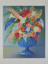 Lithografie Valérie Hermant - Flowers