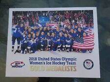 """2018 USA Women's Olympic Hockey Team Gold Medal print on 8.5"""" by 11"""" card stock"""