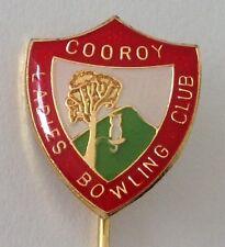 Cooroy Ladies Bowling Club Badge Pin Lawn Bowls (M23)