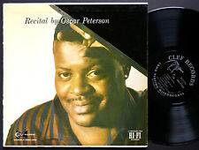 OSCAR PETERSON Recital LP CLEF MG C-694 US 1954 JAZZ DG MONO Louis Bellson CLEAN