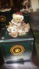 Boyds Bears, Kringle and Bailey with List #2235