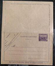 Excellent État Tunisie Postal Entier Carte Postale Lettre
