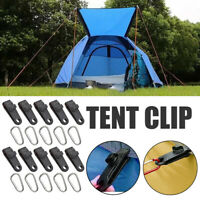 Canopy Clip Fastener Plastic Fitting Multifunctional Wind Rope Buckle Tent Clip