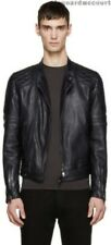 Diesel Black Gold Herren Lederjacke (leather biker jacket)