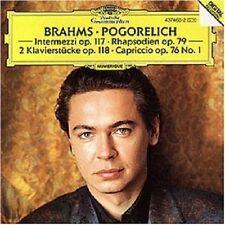 Ivo pogorelich-Brahms-rhaps.op.79/Intermezzi op.117 CD solo piano NEUF