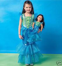 M 7175-MP 449  Patron couture - Robes Enfants et poupées