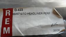 1966-67 PONTIAC GTO PERFORATED PATTERN HEADLINER