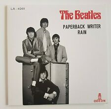 "THE BEATLES 2019 : PAPERBACK WRITER ♦  TURKEY 1966 (Remastered 7"")"
