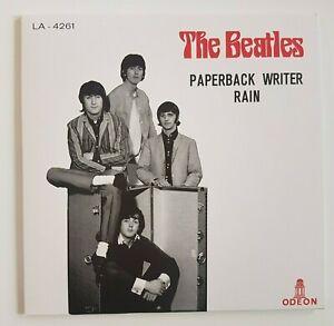 "THE BEATLES 2019 : PAPERBACK WRITER ♦  TURKEY 1966 (Remastered 7"")"
