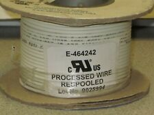 1 Reel Alpha Wire 6716 WHITE 100' FT. HOOK-UP WIRE 16AWG (26/30) 105C  600V mPPE