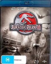JURASSIC PARK lll--SAM NEILL--WILLIAM N MACY--TEA LEONI --ALEXA --  BLU-RAY Disc