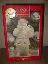 "NEW Lenox Holiday Shh...Santa Figurine 7.5"" Retail $50"