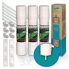 3x WSF-100 V2 Magic filtro per acqua Frigorifero Samsung Calzata Rapida