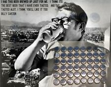 48 Billy Beer Bottle Caps Unused Jimmy Carter's Brother