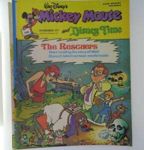 4x 1977 Disney Mickey Mouse vintage magazine No.104 105 106 108