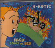 E-Rotic-Fred Come To Bed cd maxi single
