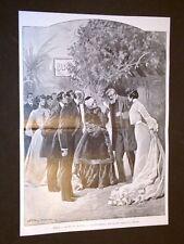 Milano nel 1904 Teatro Manzoni La Duchessa Atto II