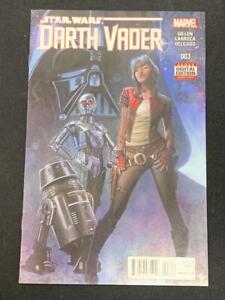 STAR WARS, DARTH VADER #3 (2015) Marvel Comics 1st Dr Aphra 1st print, Marvel