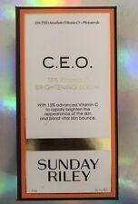 Sunday Riley CEO Vtiamin C Brightening Serum (1 Oz/30mL) Full Size - NIB