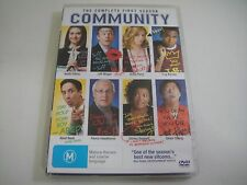 Community: First Season One 1 - 4-Disc DVD Region 4   Like-New   Chevy Chase