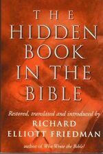The Hidden Book in the Bible by Richard Elliott Friedman (Hardback, 1999)
