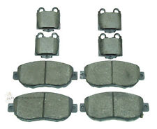 FRONT & REAR BRAKE DISC PADS FULL SET NEW FOR LEXUS IS200 IS300 SC430 MOST MODEL