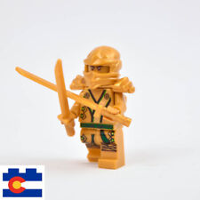 New LEGO Ninjago Gold Lloyd Ninja ZX Spinjitzu Master Swords 70503 70505 71239