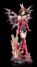 Elfen Figur - Sexy Adamas - Fee Fantasy Deko Fairy Kristalle rosa