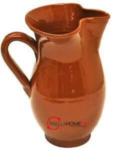 2 Litre Spanish Traditional Summer Sangria Jug , Terracotta Sangria / Wine Jug