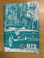 Workshop Manual Speci Driver/'s Handbook The Complete Official MGB: 1962-1974