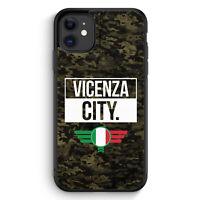 Vicenza City Camouflage Italien iPhone 11 Silikon Hülle Motiv Design Italieni...