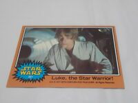 1977 Topps Star Wars #301 Luke the Star Warrior!