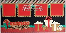 Scrapbook Layout Page Kit Christmas Gifts Boy Girl Paper Piecing PKEmporium 63